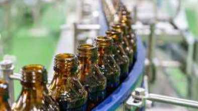 Bottle line for Automated Liquid Filling Machines